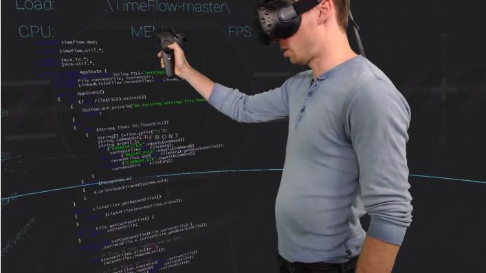 码农新装备可以在VR中检查代码的神奇应用